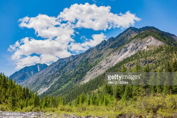 mountain scene - letchworth garden city stock photos and pictures