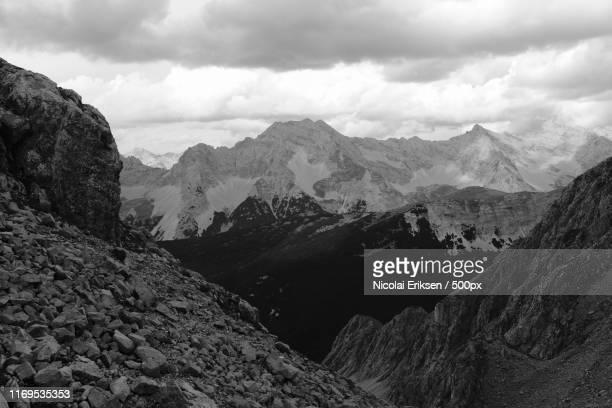 mountain scene - eriksen stock pictures, royalty-free photos & images