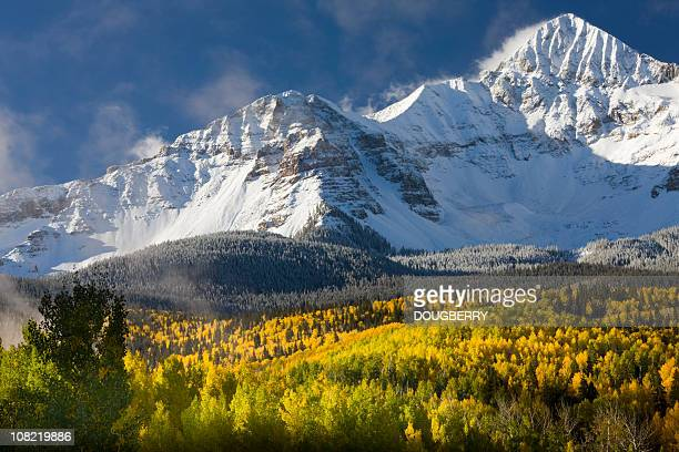mountain scenic - aspen colorado stock photos and pictures