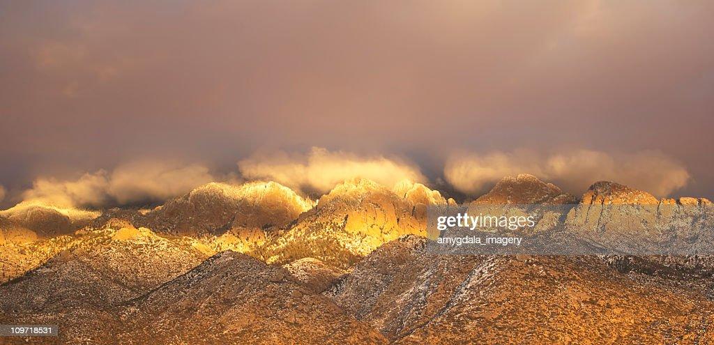 mountain sunset landscape : Stock Photo