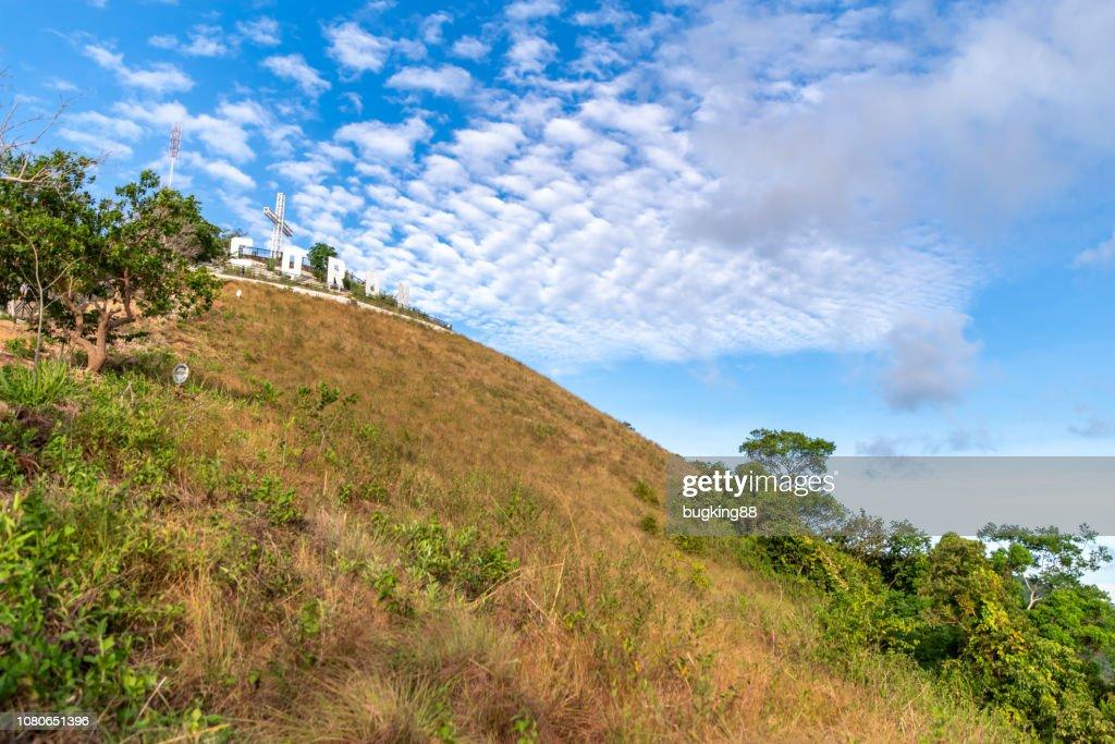 mountain Tapyas at Coron Town, Palawan : Stock Photo