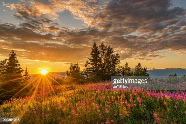 Mountain top Sunset