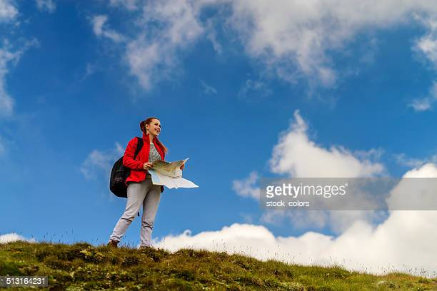 mountain Ausflug machen mich Lächeln