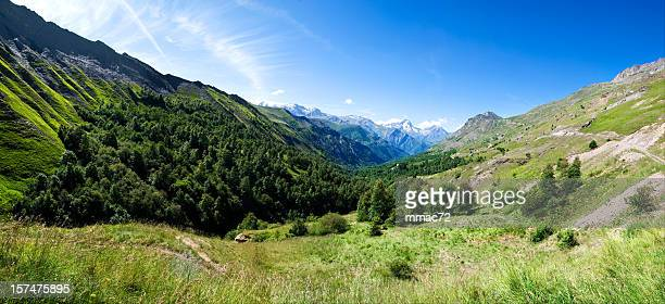 mountain valley (xxxl) - isere stock pictures, royalty-free photos & images