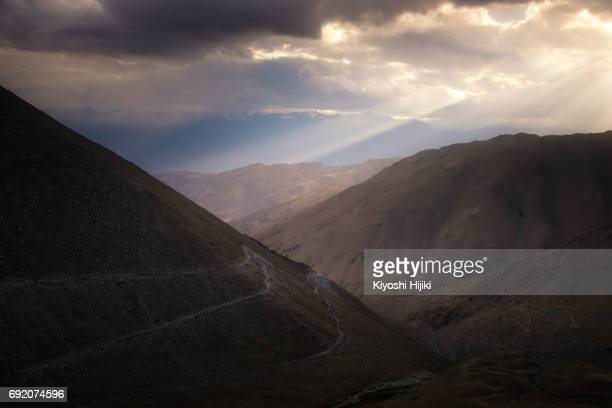 Mountain view in Ladakh region, India