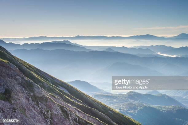 山脈 飛騨