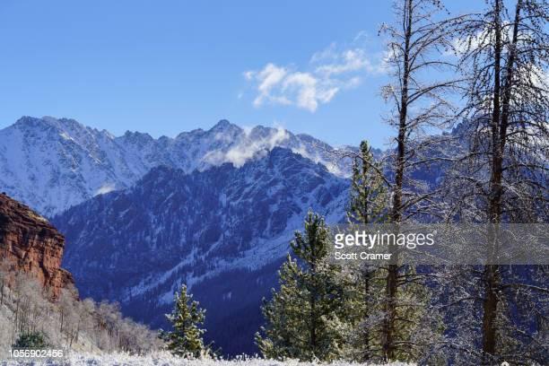 Mountain Views Winter Vail