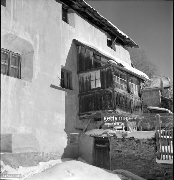 Mountain village Guarda on the first day of 1942