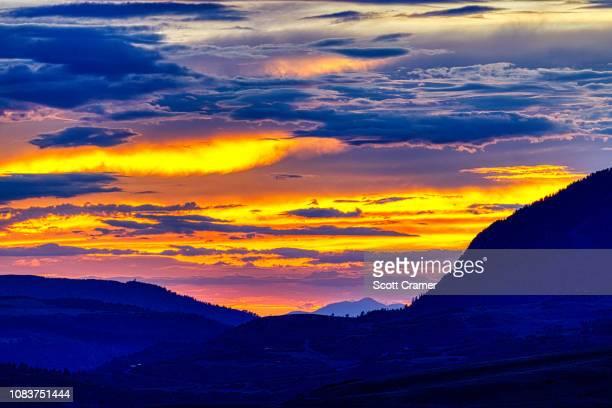 mountain village telluride - mt wilson colorado stock photos and pictures