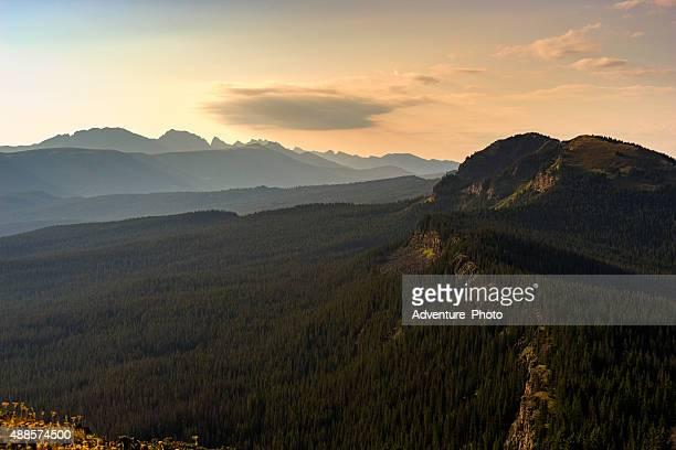 mountain vista gore range view - gore range stock photos and pictures