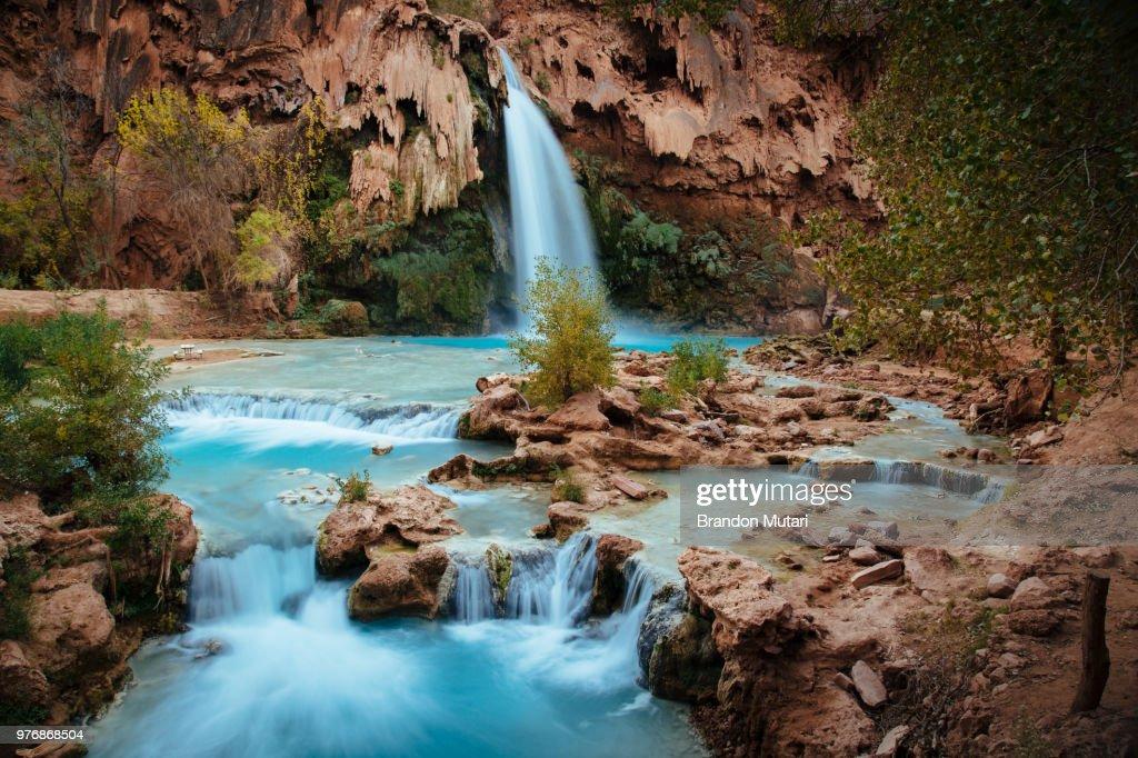 Mountain waterfall, Arizona, USA : Stock Photo