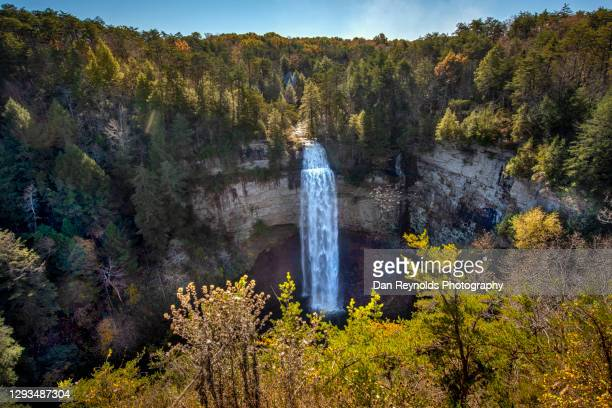 mountain waterfall - tennessee stock pictures, royalty-free photos & images