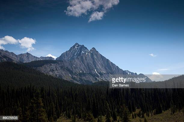 mountain wilderness - dan peak stock photos and pictures
