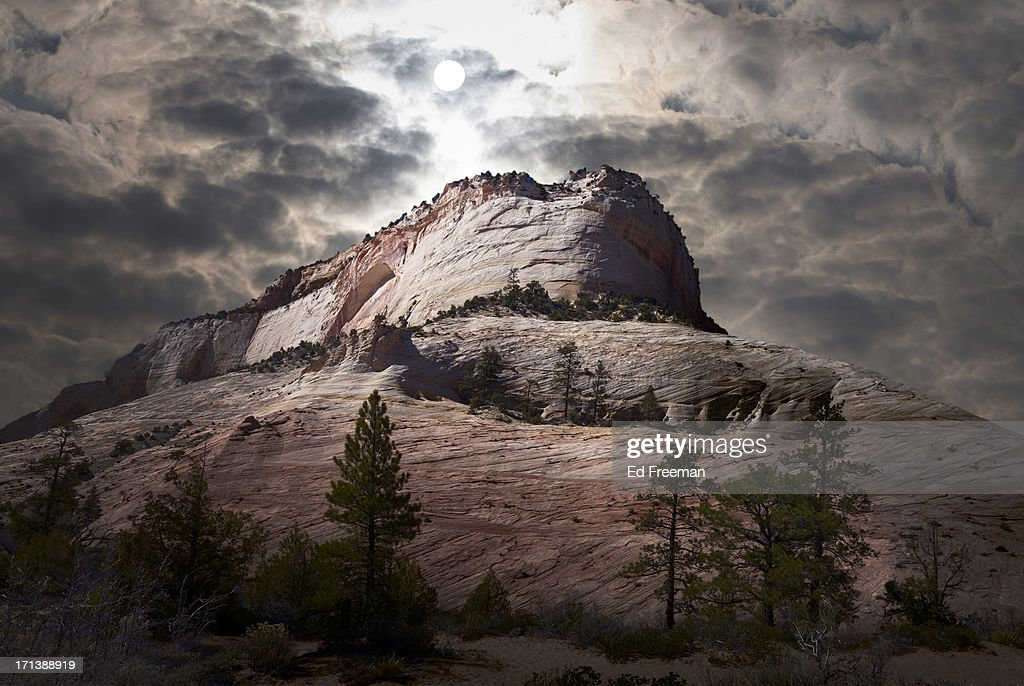 Mountain, Zion National Park : Stock Photo