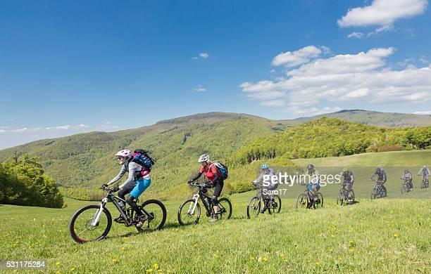 Mountainbike Friendship in Slovakian Mountains