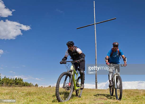 Mountainbiking at the green summit, South Tyrol