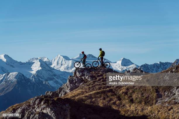 Mountainbiking in the Austrian Alps