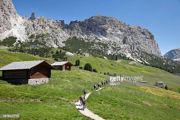 Mountainbiking in the Dolomites