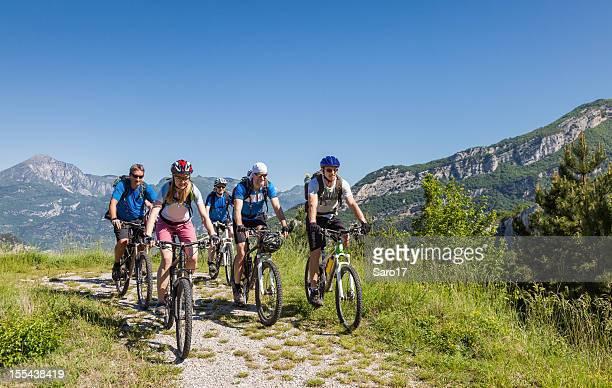 Mountainbiking in der Neuseeländische Alpen, Italien