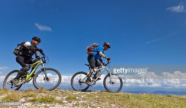 Mountainbiking near the clouds, South Tyrol