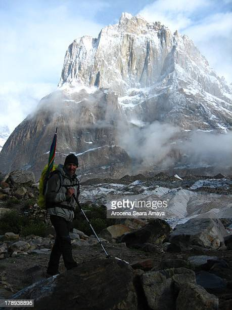 CONTENT] Mountaineer in Urdukas camp in Trekking Baltoro in the background Thunmo Cathedral Baltoro Concordia Trek has been a highlight for trekkers...