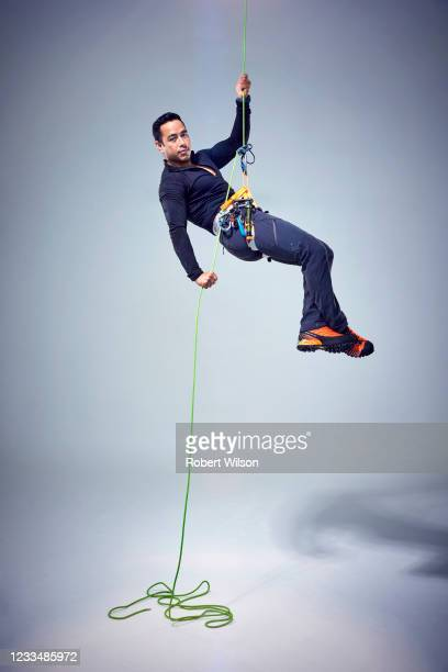 Mountaineer Nirmal Purja is photographed for the Times magazine on October 22, 2020 in London, England.