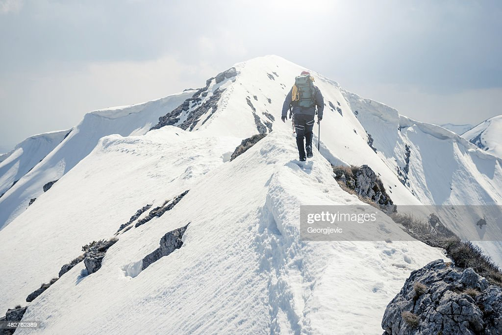 Mountaineer : Stock Photo