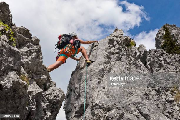 mountaineer - climbing stock pictures, royalty-free photos & images