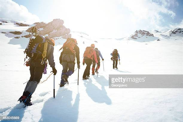 mountaineering - climbing stock pictures, royalty-free photos & images