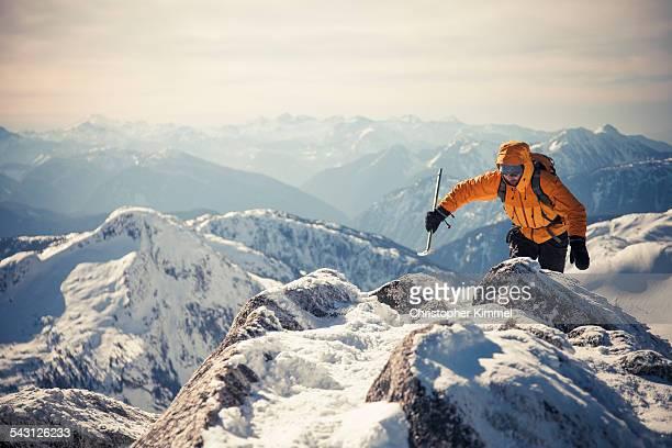 mountaineering - alpinismo foto e immagini stock