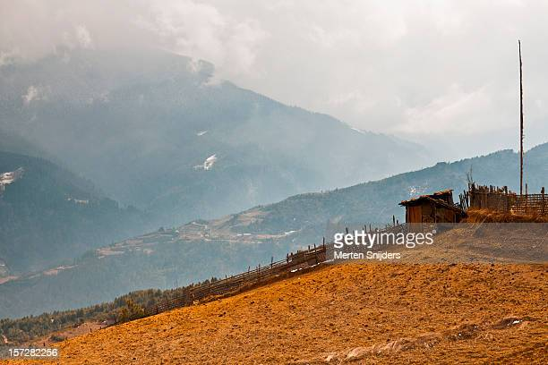 mountainious farm ground - merten snijders stock pictures, royalty-free photos & images