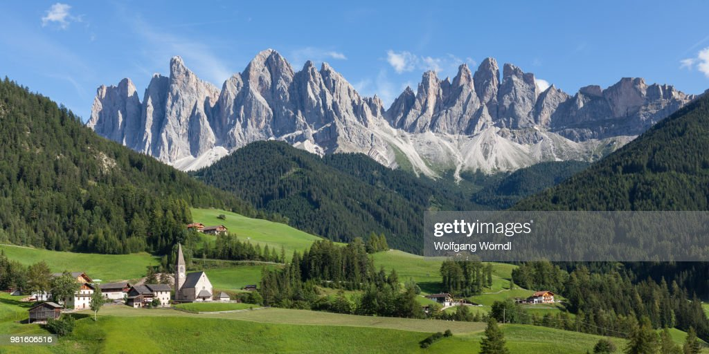 A mountainous landscape. : Stock Photo