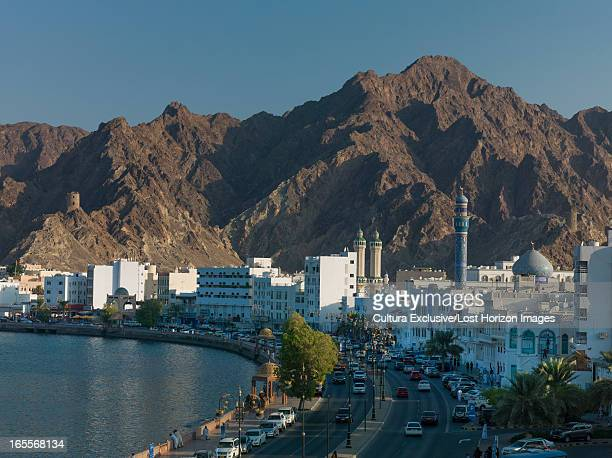 Mountains and Muscat skyline