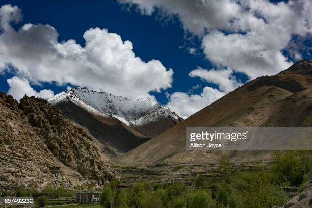 Mountains are seen on June 13 2017 in Ladakh India The cold desert of Ladakh has been known as the roof of the world and reportedly a region with...