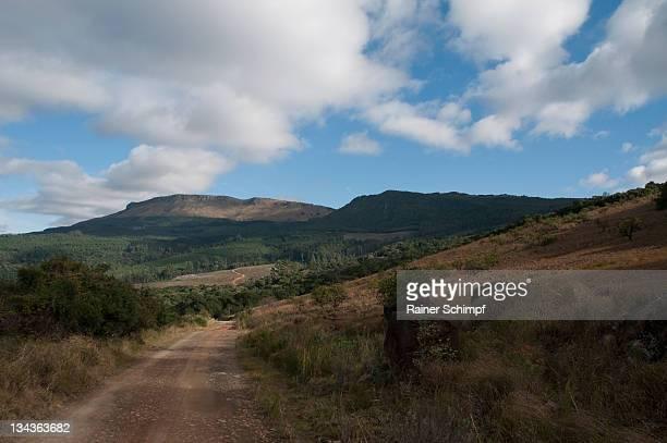 mountains around stutterheim, eastern cape province, south africa - stutterheim stock photos and pictures