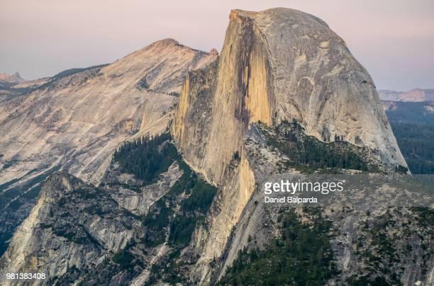 Mountains at sunset, Glacier Point, Yosemite National Park, California, USA