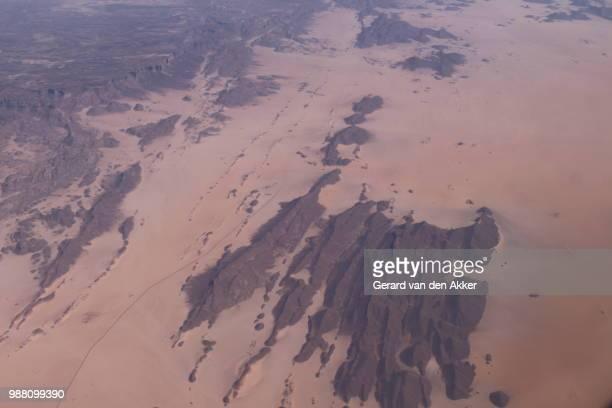 Mountains at the Sahara