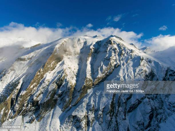 mountains in aragnouet, hautes-pyrenees, occitanie, france - hautes pyrenees stock pictures, royalty-free photos & images