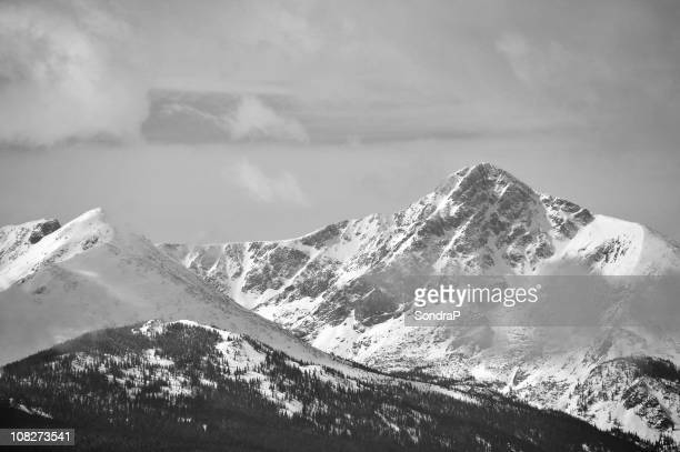 Mountains in Black and White