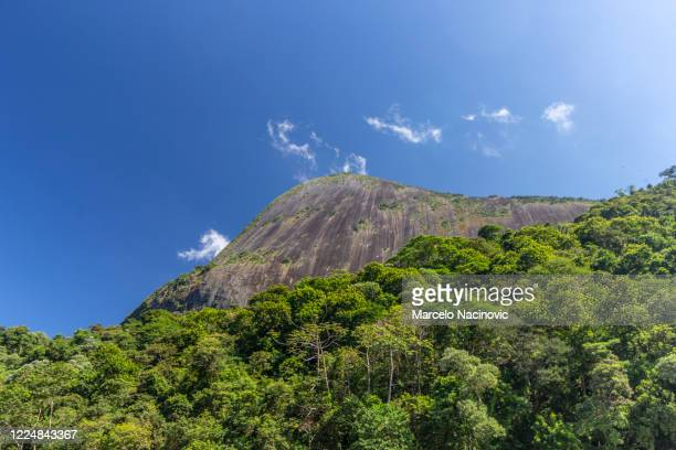 mountains in teresopolis - marcelo nacinovic stock pictures, royalty-free photos & images
