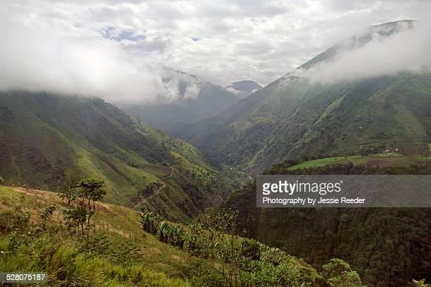 Mountains in the Andes, Ecuador