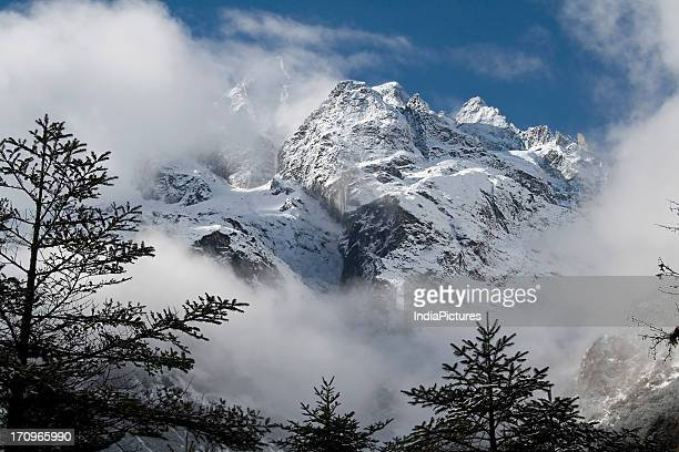 Mountains in Yumthang Valley Sikkim India