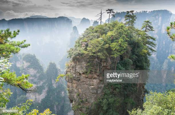 Mountains in Zhangjiajie national park