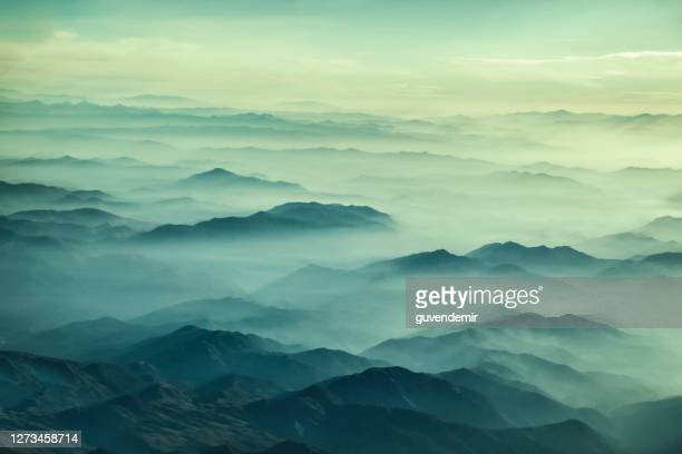 mountains landscape - asheville stock pictures, royalty-free photos & images