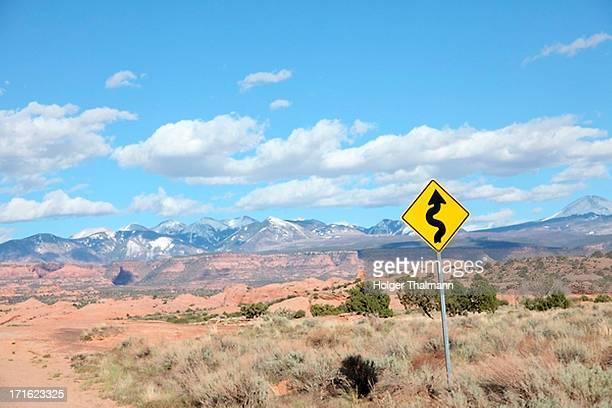 Mountains, Moab, Utah, USA