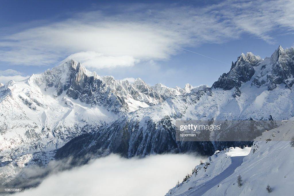 Mountains of Chamonix : Stockfoto