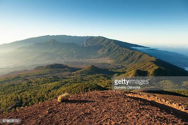 Mountains of La Palma island