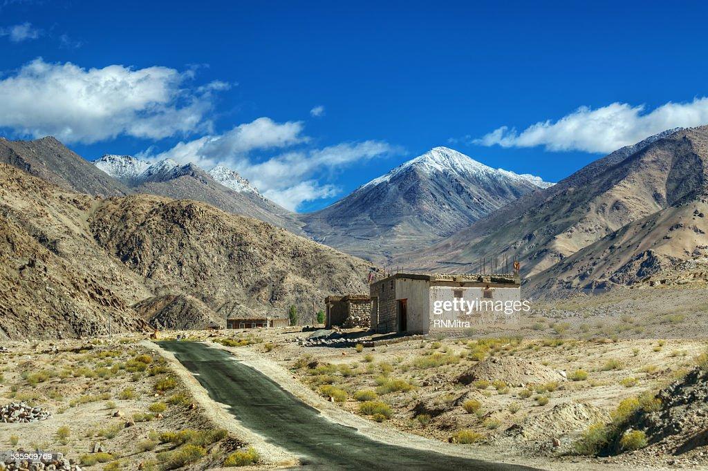 Berge von Leh, Ladakh, Jammu und Kaschmir, Indien : Stock-Foto
