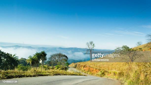 mountains of minas gerais. - crmacedonio stock photos and pictures