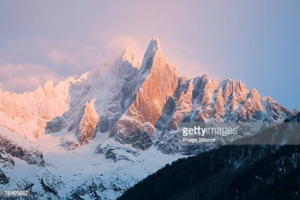 mountains of the french alps - european alps stock pictures, royalty-free photos & images